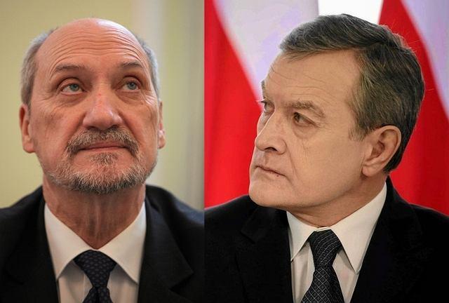 Antoni Macierewicz, Piotr Gliński