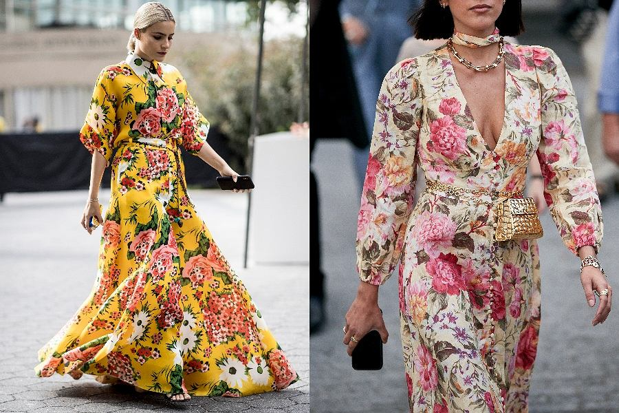 Sukienki w kwiaty na wesele
