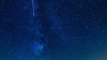 Noc spadających gwiazd 2016. Perseidy nad Beskidem Żywieckim. Hala Krupowa, okolice Zawoi, 12 sierpnia 2016