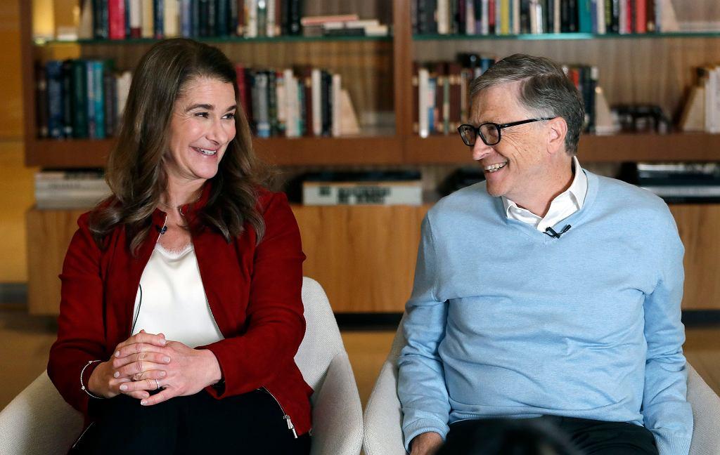 Bill Gates i Melinda Gates chcą się rozwieść