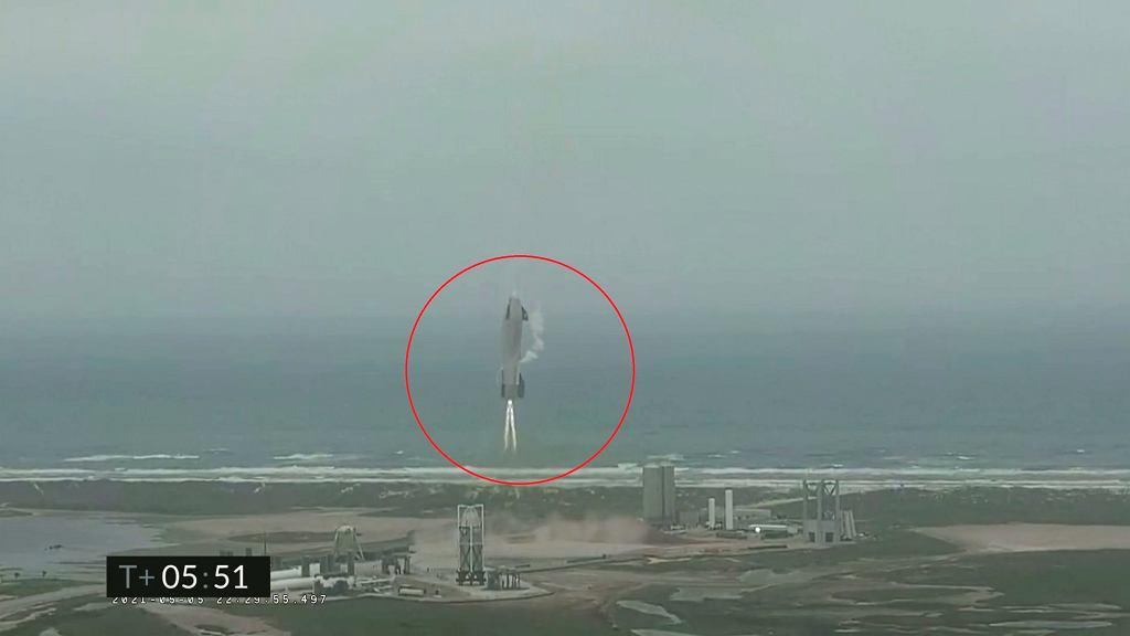 SpaceX Starship wylądował