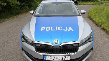 Policyjne skody superb