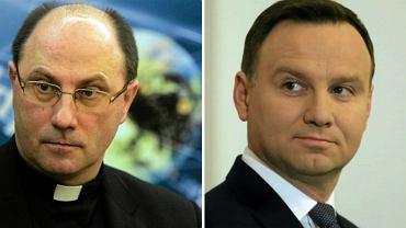 Prymas Wojciech Polak i Andrzej Duda