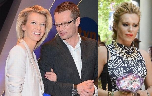 Magda Mołek, Marcin Meller i Doda