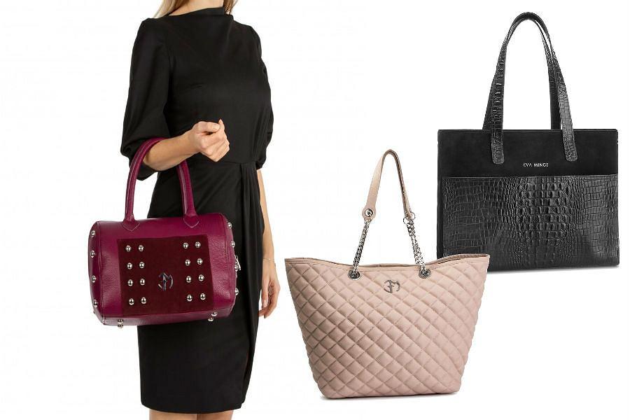 Duże torebki Eva Minge