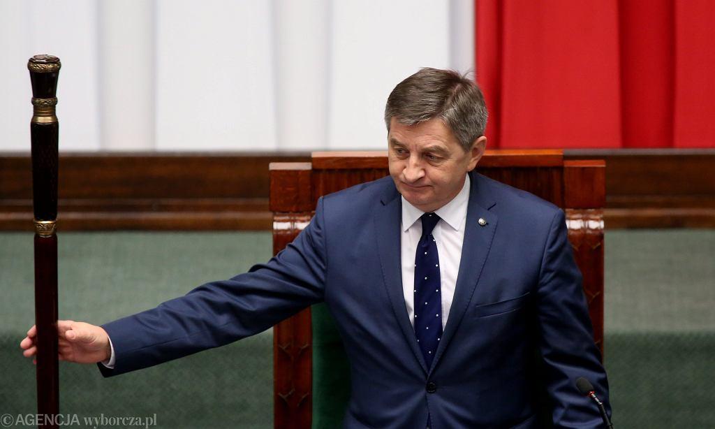 Marszałek Sejmu RP Marek Kuchciński