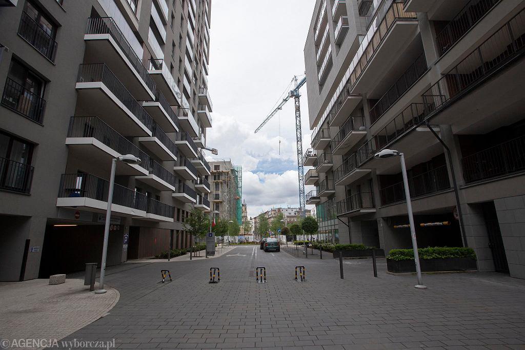 Nowe budynki mieszkalne we Wrocławiu