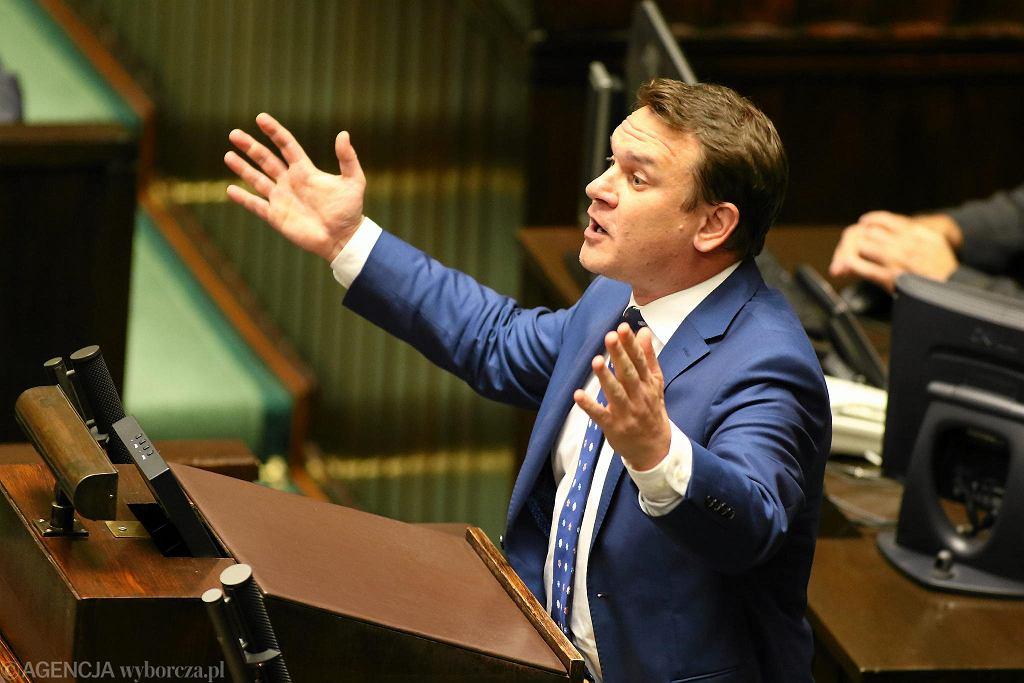 Dominik Tarczyński w Sejmie