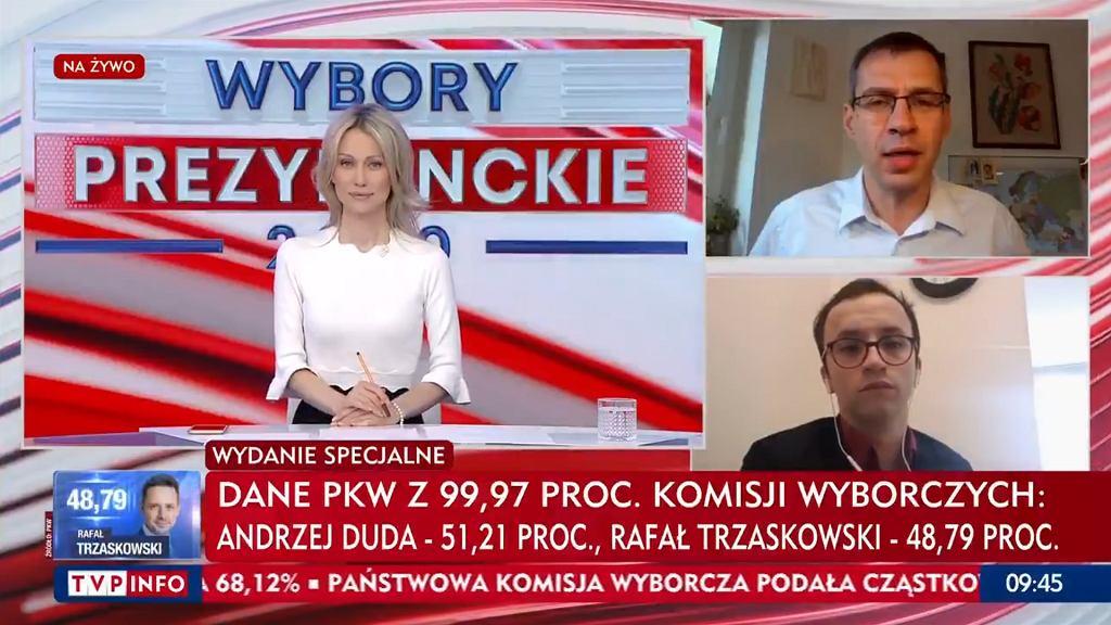 Jacek Karnowski w TVP Info