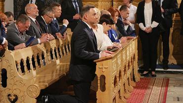 Andrzej Duda na uroczystości 100. rocznicy objawień fatimskich w Zakopanem