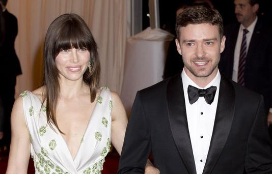 05/07/2012 - Jessica Biehl, Justin Timberlake -