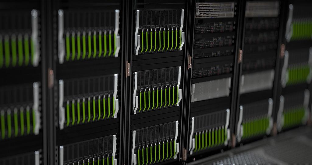 Serwer obsługujący usługę GeForce Now