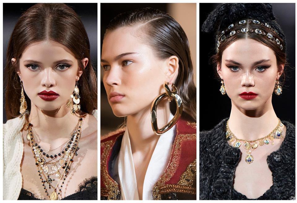 Biżuteria pokazy mody 2020/2021