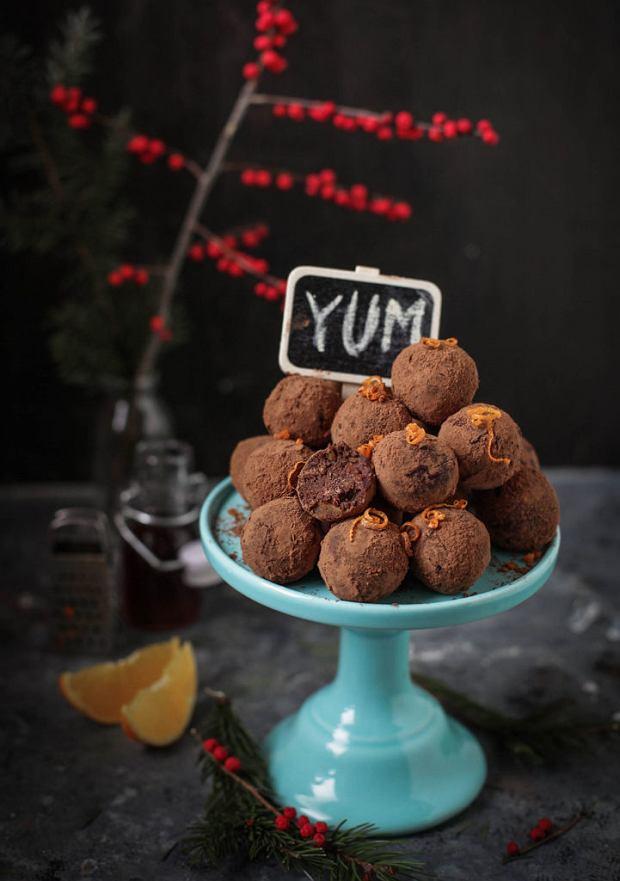 Walentynkowe słodkości: trufle czekoladowe