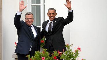 Prezydent USA Barack Obama w Polsce