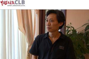 Pomagał robotnikom w chińskiej fabryce szyjącej dla Calvina Kleina. Idzie za to do więzienia