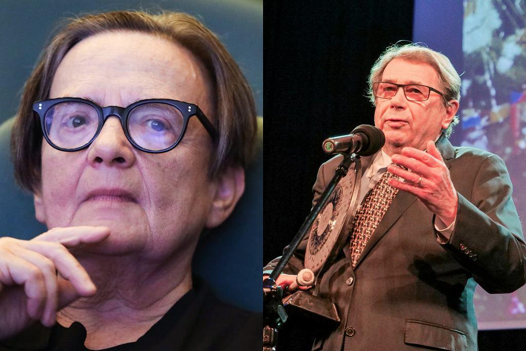 Agnieszka Holland, Janusz Gajos