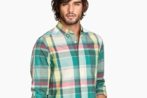 Męskie koszule w kratę: idealne na wiosnę