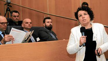 O tym, jak nam szkodzi smog, prof. Izabela Sówka opowiadała również podczas konferencji organizowanych przez 'Gazetę Wyborczą' na Politechnice Wrocławskiej