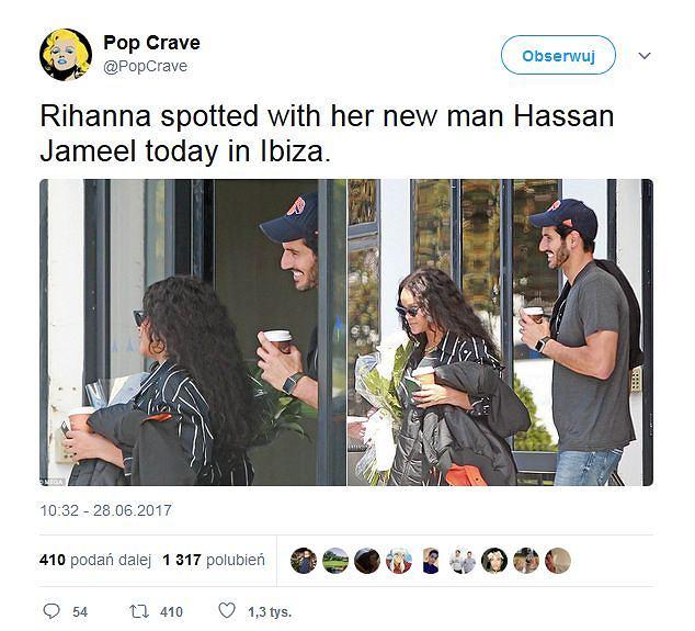 Drake nie umawia się z Rihanną