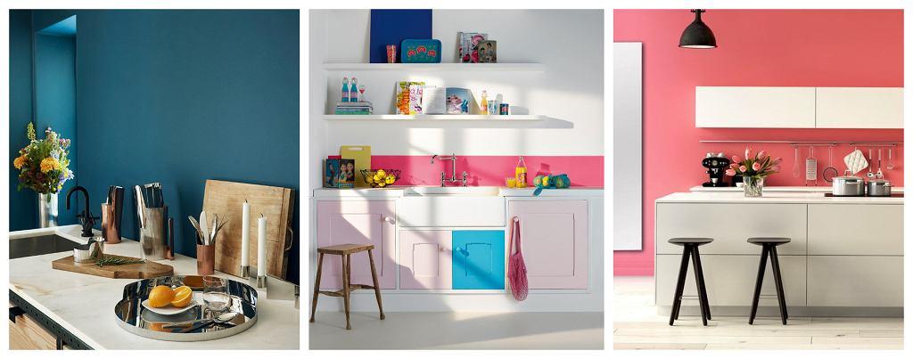 Farba na ścianie w kuchni - inspiracje