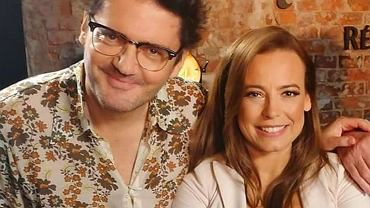 Kuba Wojewódzki i Anna Mucha