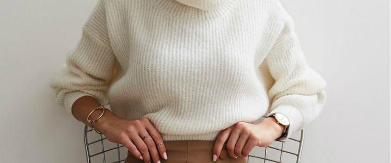 Najpiękniejsze swetry z golfem. Wybieramy modele na jesień w niskiej cenie!