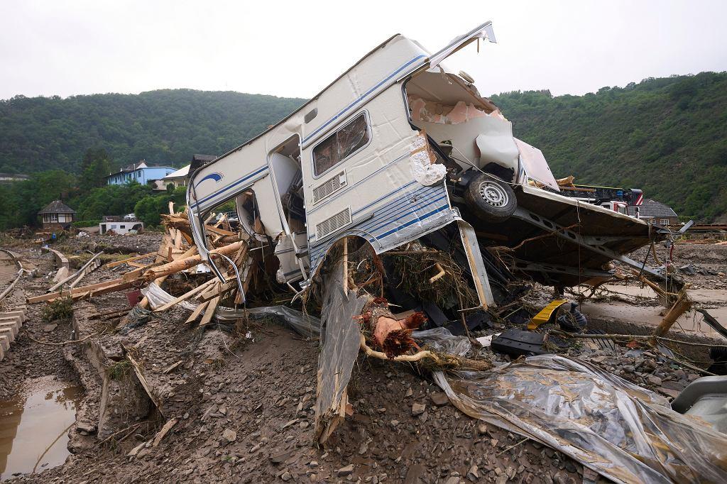 Zniszczenia w Altenahr