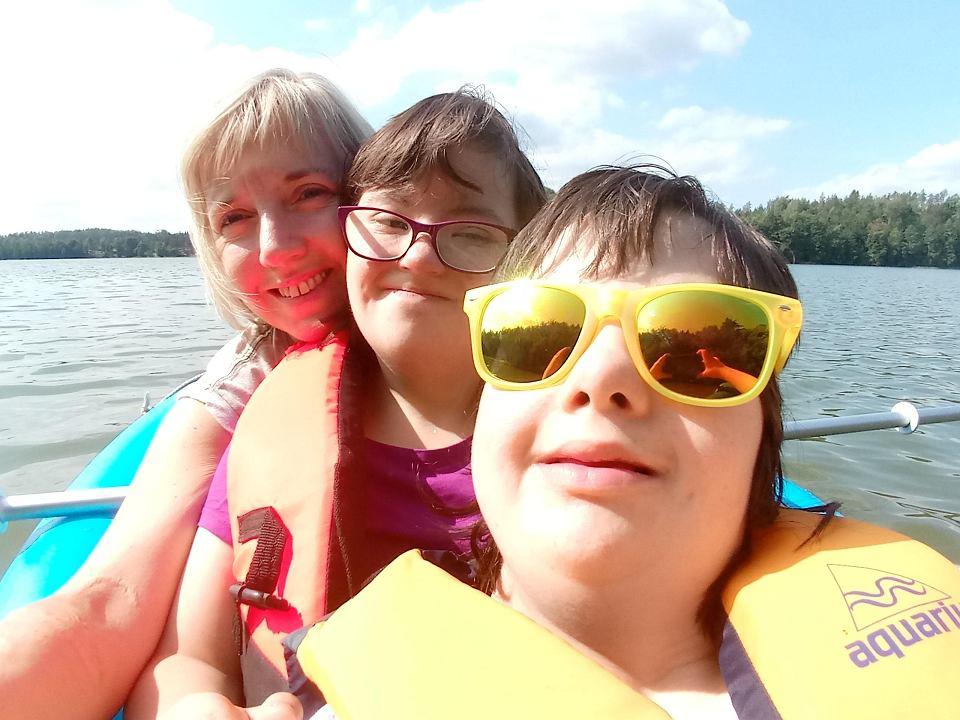 Gośka Dyczewska - mama zastępcza dwóch dziewczynek z zespołem Downa