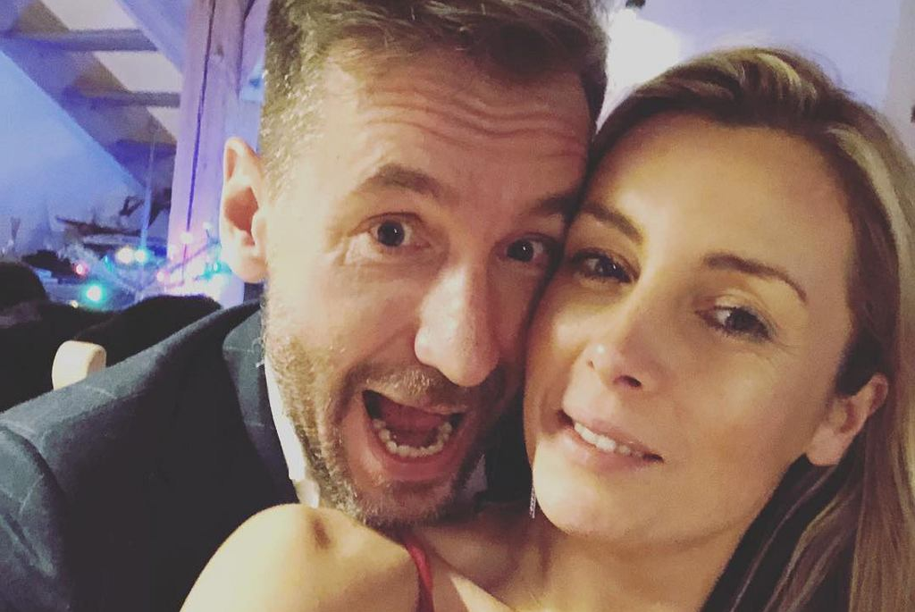 Piotr Kraśko i Karolina Ferenstein-Kraśko świętują rocznicę ślubu