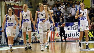 Koszykarska ekstraklasa kobiet, sezon 2017/18: AZS AJP Gorzów - Ślęza Wrocław 72:86 (21:29, 18:21, 14:16, 19:20)