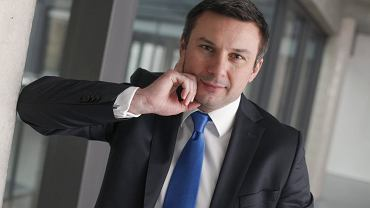 Prezes TFI Altus Piotr Osiecki jest jednym z najbogatszych Polaków. Na zdjęciu z grudnia 2013 r.