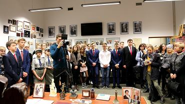 Otwarcie wystawy o pierwszej damie polskiej emigracji prezydentowej Karolinie Kaczorowskiej na Uniwersytecie w Białymstoku