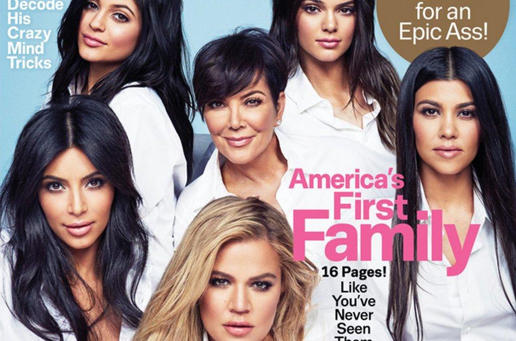 Kardashianki na okładce Cosmopolitan