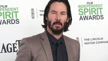 Keanu Reeves w marcu 2014 roku