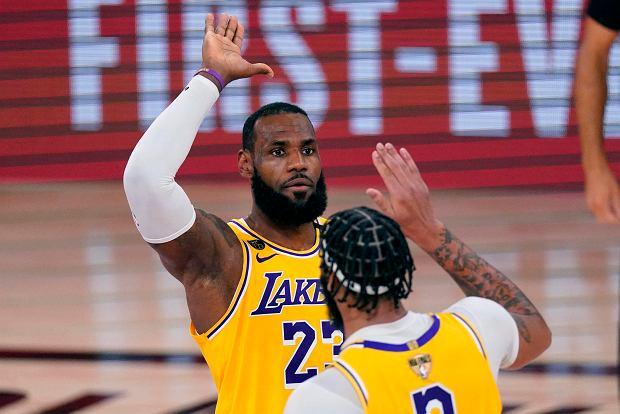 LA Lakers prowadzą w finale NBA. Problemy rywali przed kolejnymi meczami