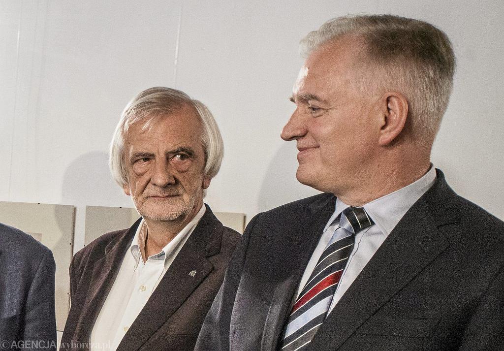 Ryszard Terlecki i Jarosław Gowin