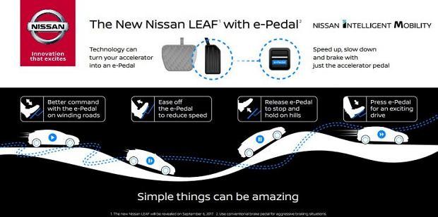 Nissan Leaf 2017 e-Pedal