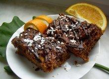 Ciasto dyniowe z nutą pomarańczy - ugotuj