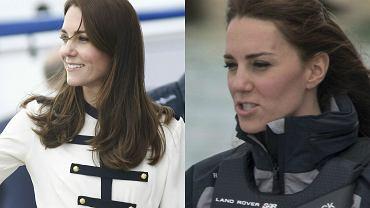 Księżna Kate nie przestaje nas zaskakiwać. Żona księcia Williama pojawiła się wczoraj w brytyjskim Portsmouth, aby zainaugurować dwie kampanie, mające na celu zainteresowanie dzieci i młodzież żeglarstwem. Aby dać im jak najlepszy przykład, księżna sama wzięła udział w pokazowym rejsie superszybkim katamaranem z uznanym brytyjskim Olimpijczykiem, Benem Ainsliem. Na potrzeby tego wydarzenia, Kate przebrała się nawet w specjalny wodoodporny kostium. W takim wydaniu na pewno jeszcze jej nie widzieliście!