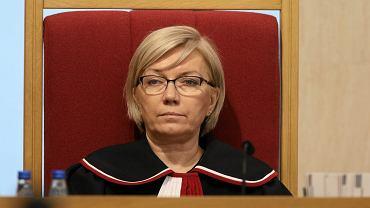 Julia Przyłębska - prezes TK z nadania partii rządzącej. Warszawa, 8 marca 2016