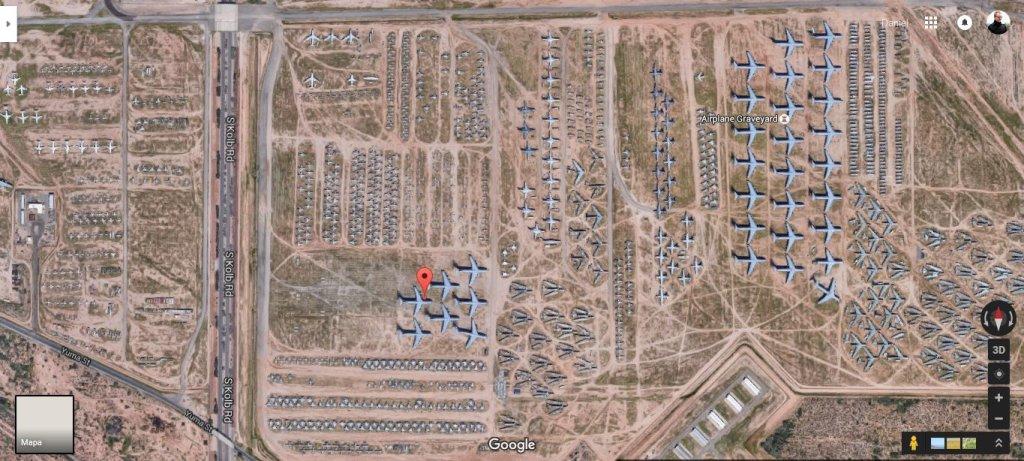 Cmentarzysko samolotów