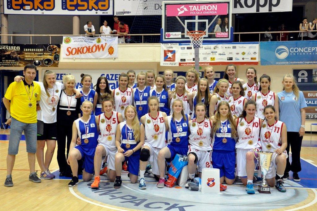 Drużyna AZS PWSZ Gorzów zdobyła brązowe medale w mistrzostwach Polski U-16