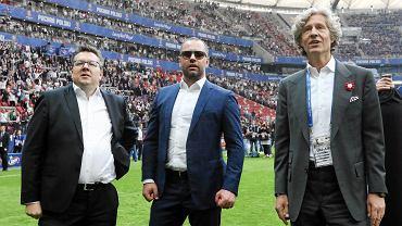 Maciej Wandzel, Bogusław Leśnodorski i Dariusz Mioduski
