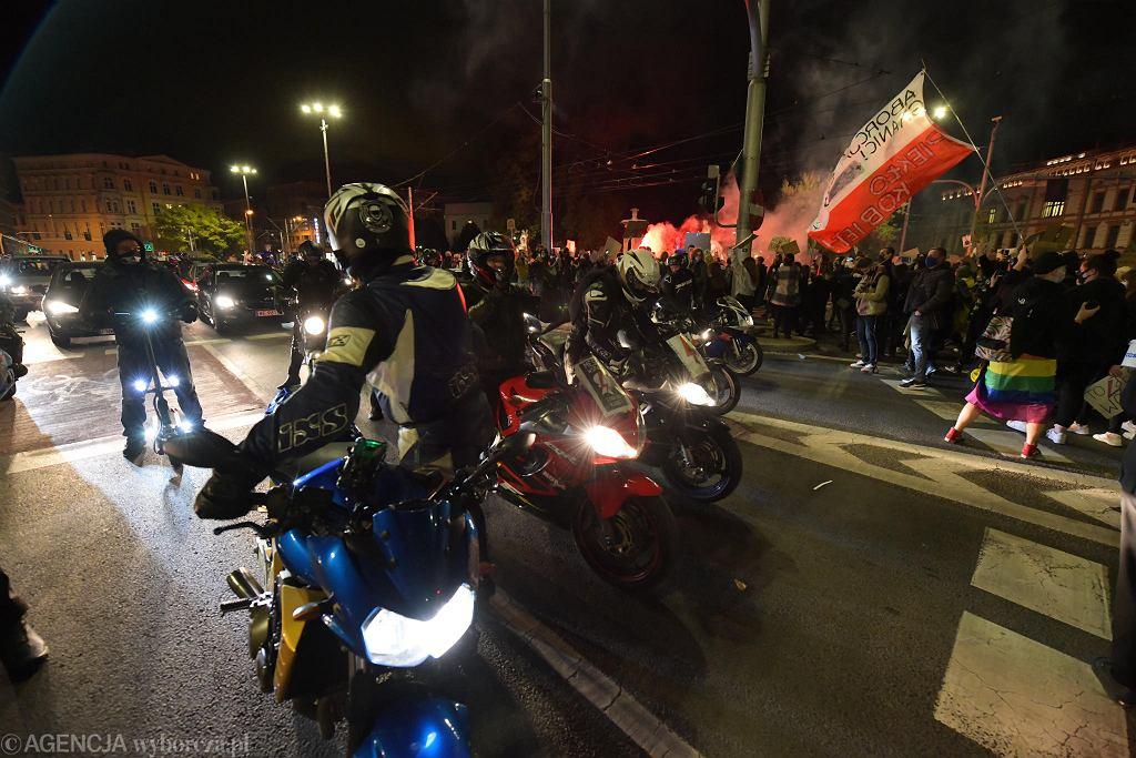 Strajk kobiet przeciw zakazowi aborcji we Wrocławiu - 28.10.2020