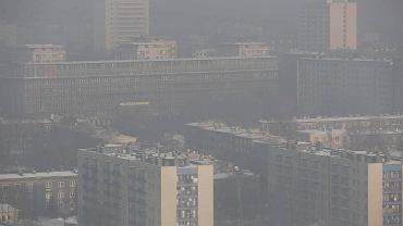 Smog nad Katowicami