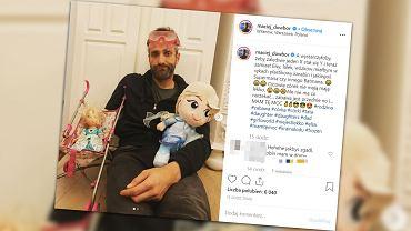 Maciej Dowbor jest tatą dwóch córek. Wózki i lalki wymieniłby na plastikowy karabin