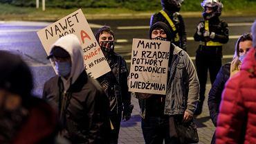 12. dzień Strajku Kobiet w Rzeszowie