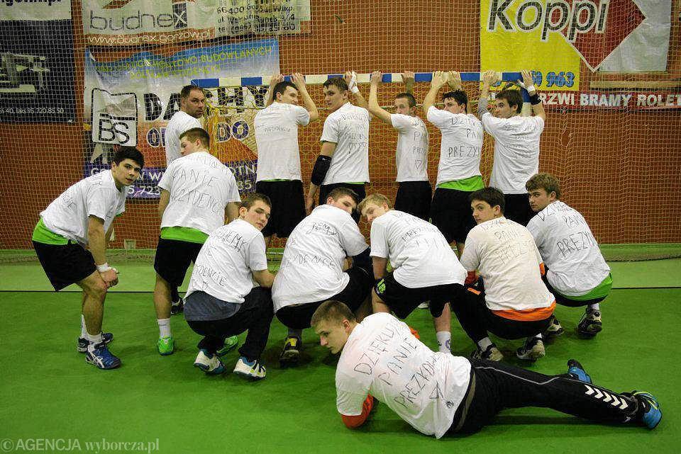 Pierwsza liga piłkarzy ręcznych: GSPR Gorzów - Spójnia Gdynia 22:22