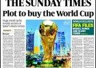 """MŚ 2022. Katar dostał mundial dzięki korupcji? """"Sunday Times"""" ma milion dowodów"""
